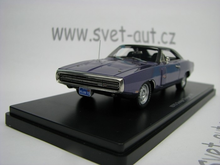 Dodge Charger R/T 1970 Lila 1:43 Ertl - Auto World